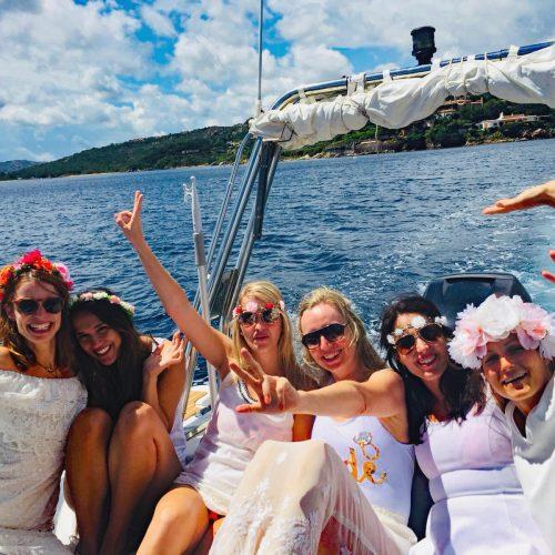 Bachelorette Boat Party Sardinia Island Tours