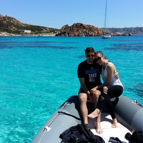 Cala Corsara Couple Boat Excursion