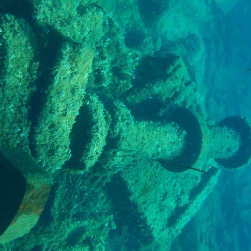 Shipwreck La Maddalena Archipelago