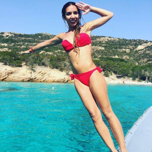 Sardinia Island Tours Boat Jumping