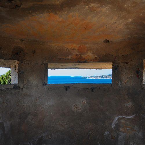Palau Inside Watch Tower