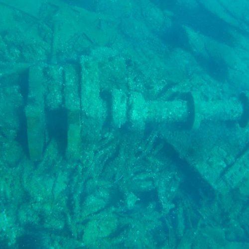 Shipwreck La Maddalena