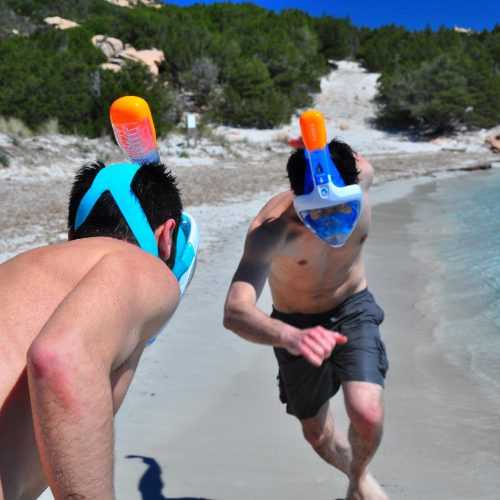 Having Fun with Snorkeling Gear