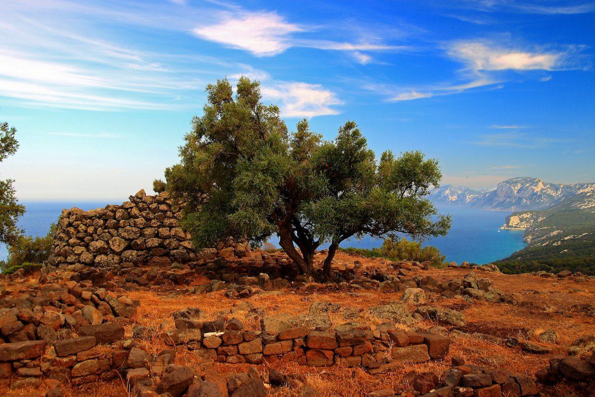 Sardinia Nuraghe Gulf of Orosei