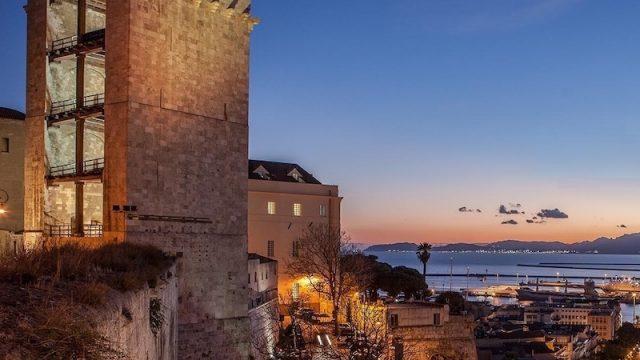 Castello Cagliari Sardinia