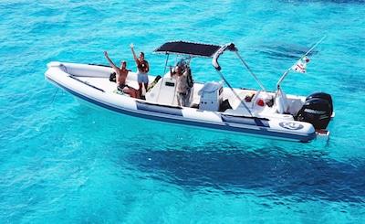 Tour boat La Maddalena